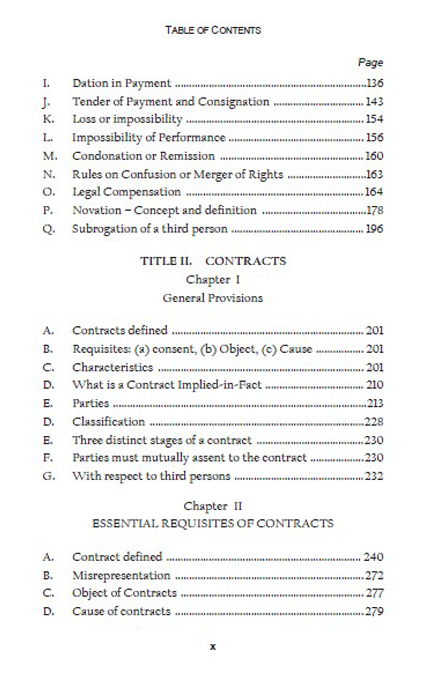 essential requisites of a contract